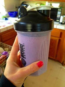 blueberry cheesecake shake