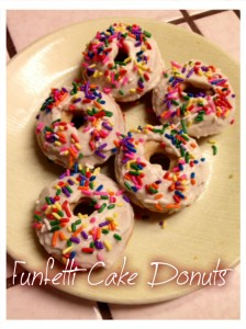 Healthy Cake Donuts Finesse Fitness