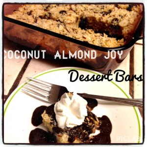 coconut almond joy bars
